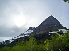 Redrock Falls Trailviews - Glacier - Montana - USA