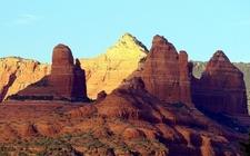 Red Rock SP Landscape At Sedona AZ