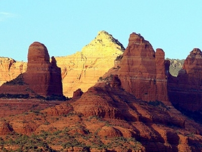 Red Rock SP Landscape At Sedona AZ