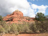 Red Sandstone Butte From Parking Lot/Trailhead