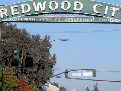 Redwood  City Eastern Sign
