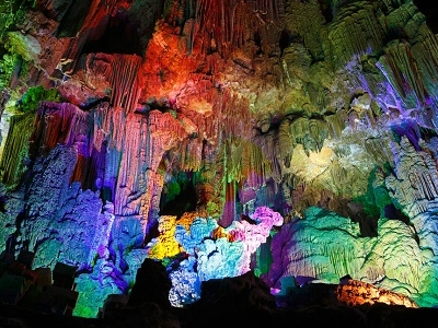 Reed Flute Cave In Guangxi Guilin