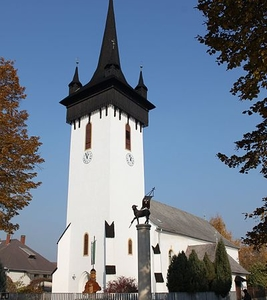 Reformed Church In Fehérgyarmat