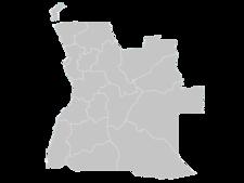 Regional Map Of Angola