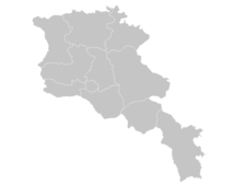 Regional Map Of Armenia