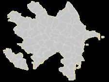 Regional Map Of Azerbaijan
