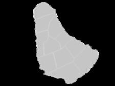 Regional Map Of Barbados