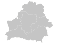 Regional Map Of Belarus