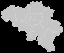 Regional Map Of Belgium