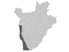 Regional Map Of Burundi