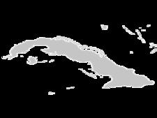 Regional Map Of Cuba