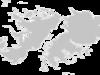Regional Map Of Falkland Islands (Islas Malvinas)