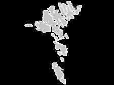 Regional Map Of Faroe Islands