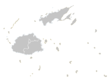 Regional Map Of Fiji