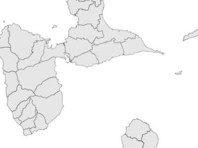 Regional Map Of Guadeloupe