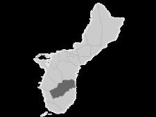 Regional Map Of Guam