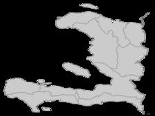 Regional Map Of Haiti