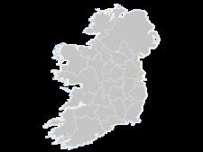 Regional Map Of Ireland