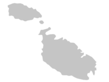 Regional Map Of Malta