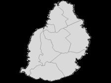 Regional Map Of Mauritius