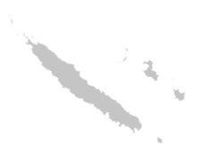 Regional Map Of New Caledonia