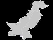 Regional Map Of Pakistan