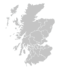 Regional Map Of Scotland