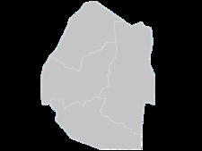 Regional Map Of Swaziland