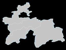 Regional Map Of Tajikistan
