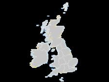 Regional Map Of United Kingdom