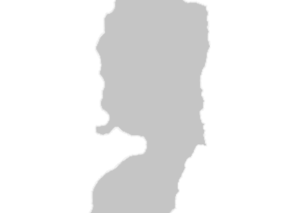 Regional Map Of West Bank