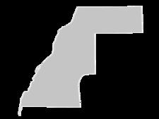 Regional Map Of Western Sahara