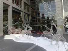 Reindeers Outside KL Pavilion