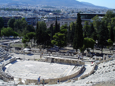 Remains Of The Theatre Of Dionysus Eleuthereus