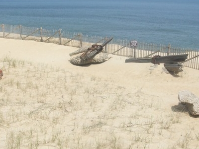 Remains Of The  Marconi  Station In  Wellfleet