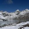 Renjo La Pass - View From Gokyo - Nepal Himalayas