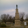 Republic Monument At Riverview Cemetery Arkansas City