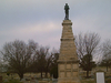Republic Monument At Riverview Cemetery Arkansas City