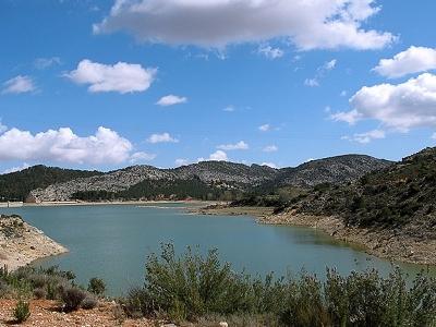 Reservoir Gallipuén Of Teruel (Aragon)