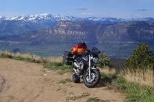 Rest Along Beartooth Pass Highway WY