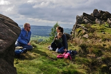 Resting @ The Roaches UK