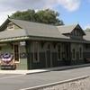 Restored Train Station In Gouldsboro