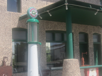 Restored Magnolia Gasoline Station On U.S. Route 66