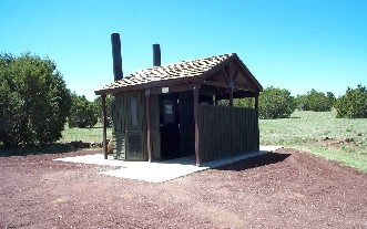 Restroom Facility At Kinnikinick Lake
