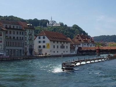 Reuss River At Luzern - Switzerland