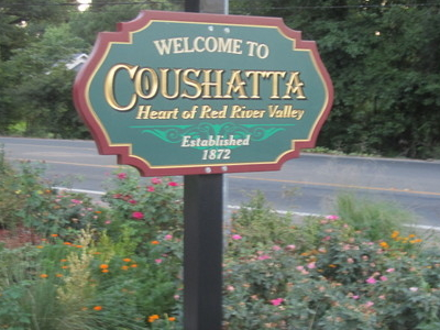 Revised  Coushatta  Welcome Sign