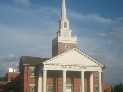 Revised Photo  First  Baptist  Church