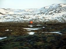 Reykjanes Landscape In Winter