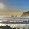 Reynisdrangar - Basalt Seastacks Near Vik Village - South Iceland