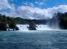 The Rhine Falls Seen From The Rhine